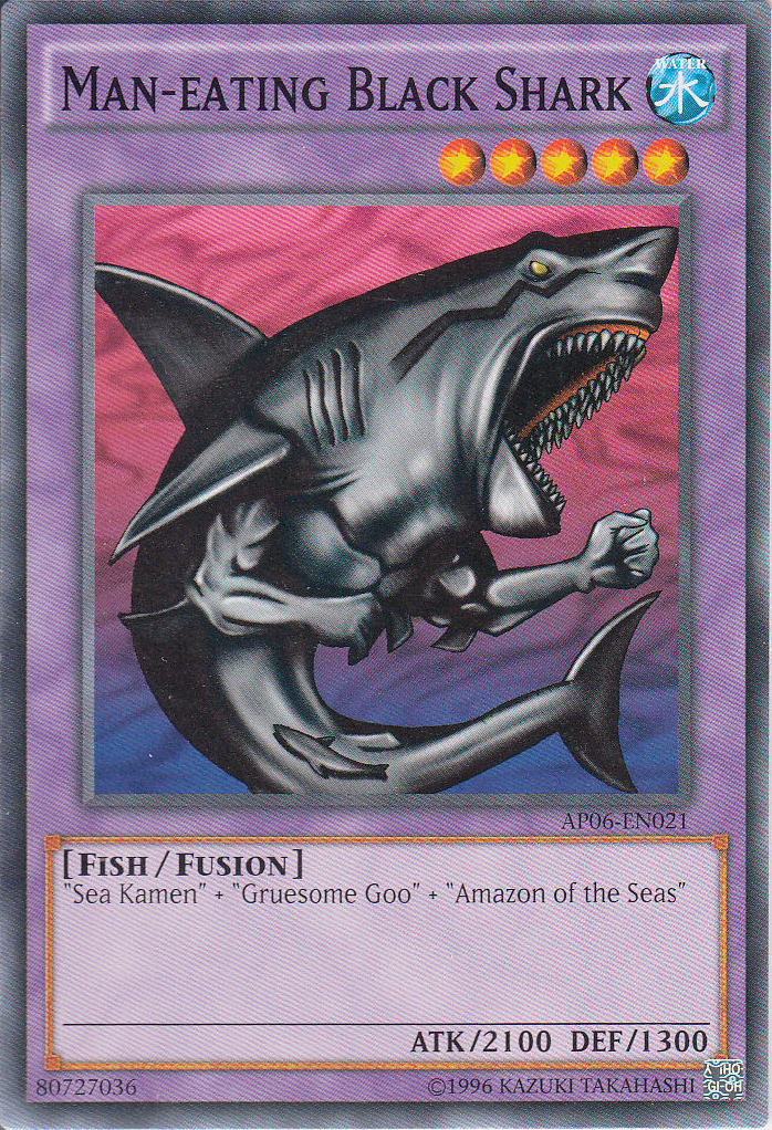 maneating black shark yugioh fandom powered by wikia