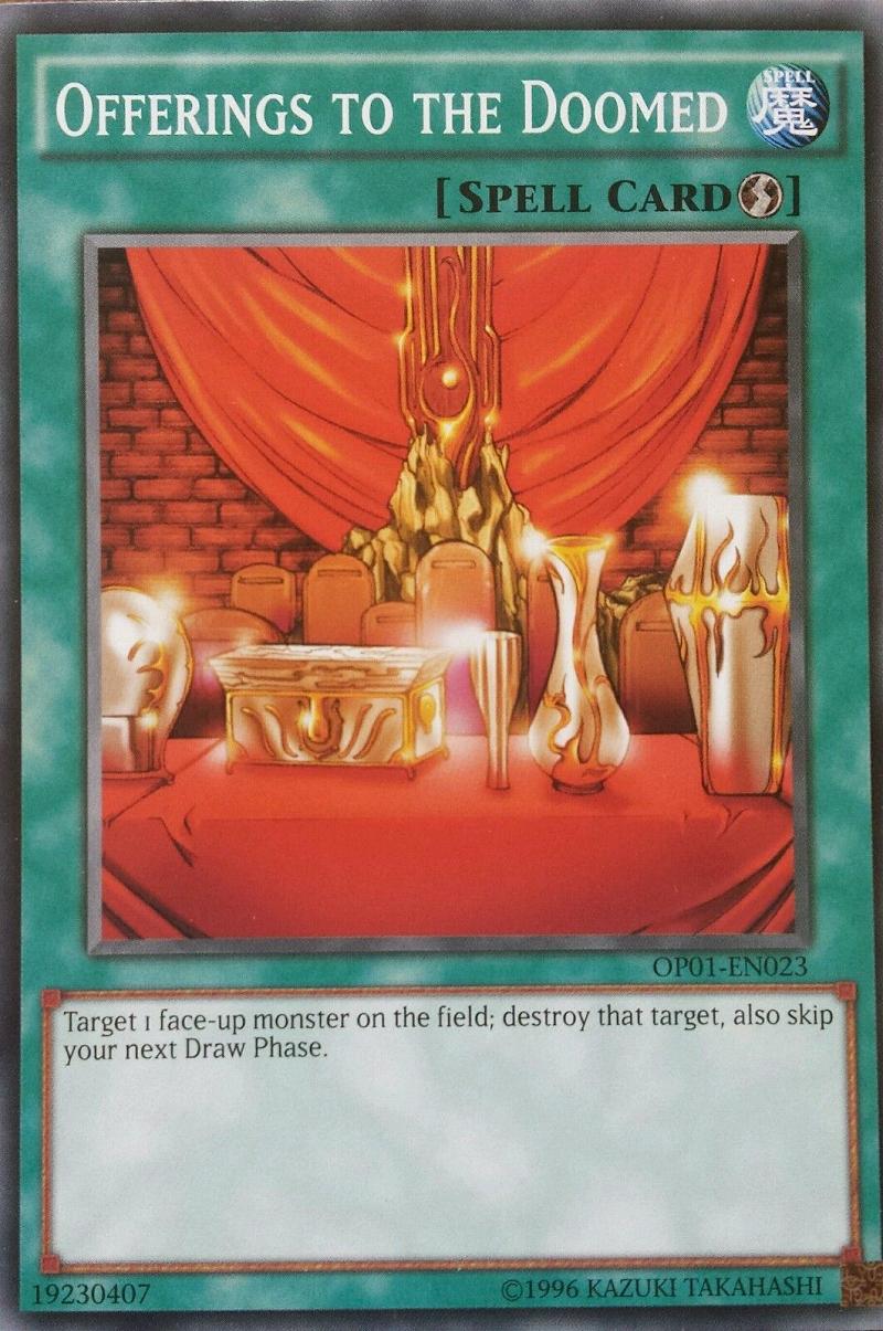 card errata offerings to the doomed yu gi oh fandom powered