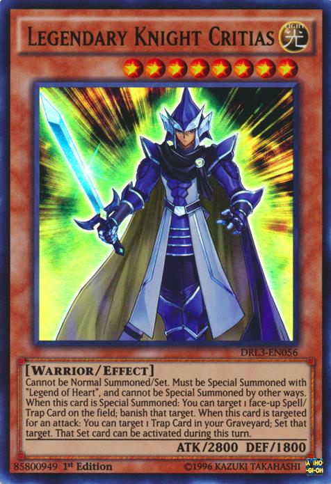 Yugioh legendary knight timaeus