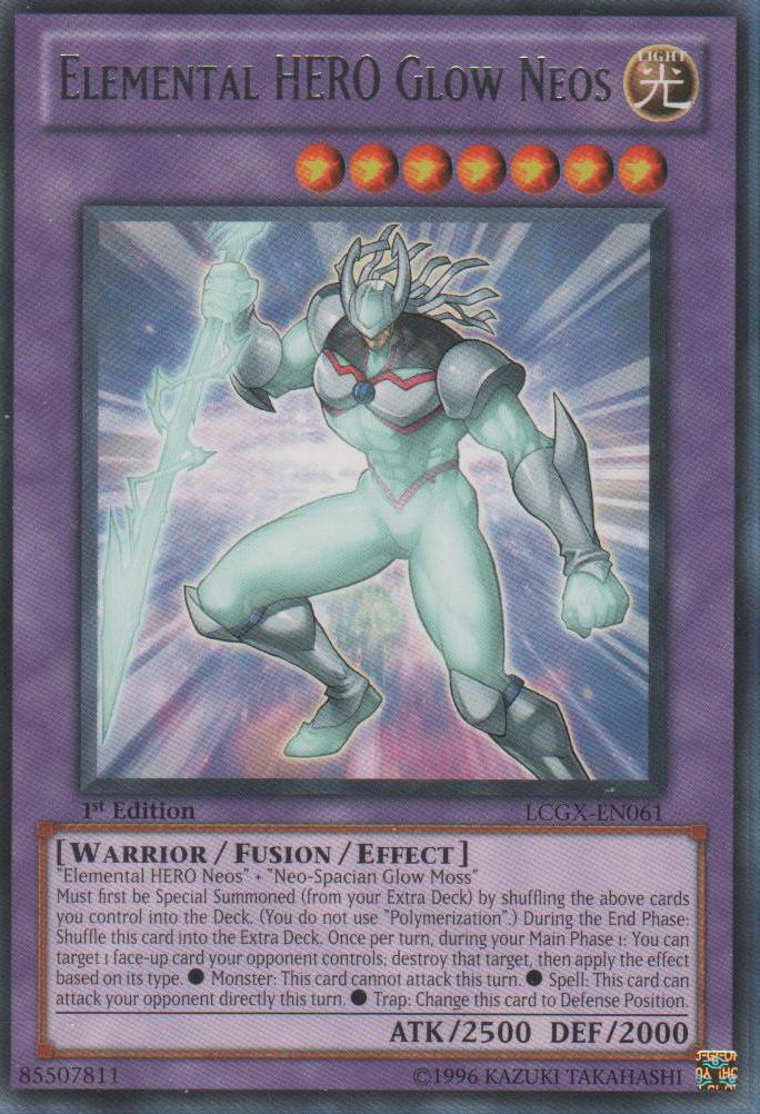 Elemental Hero Glow Neos Yu Gi Oh Fandom Powered By Wikia