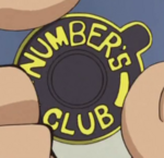 Number's Club Badge