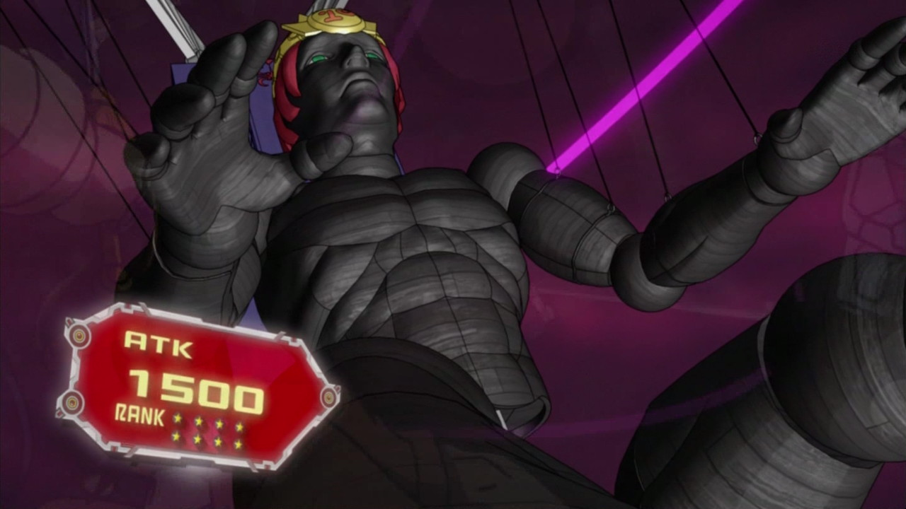 number 15 gimmick puppet giant grinder anime yu gi oh