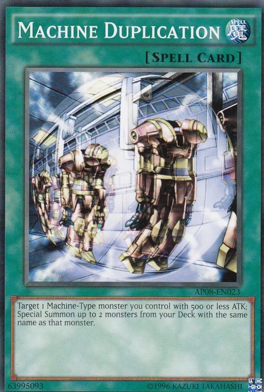 machine duplication yugioh
