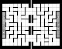 Labyrinth game grid