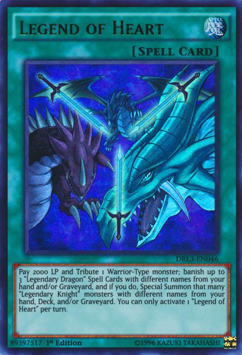 Legend of Heart | Yu-Gi-Oh! | FANDOM powered by Wikia