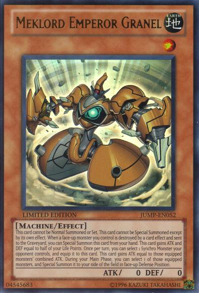 card errata meklord emperor granel