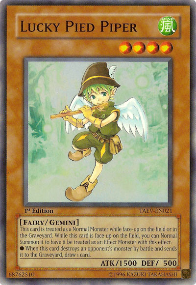 Lucky Pied Piper Yu Gi Oh Fandom Powered By Wikia