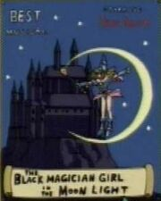DMx148 The Black Magician Girl in the Moon Light poster