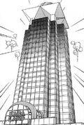 Kaiba Land skyscraper