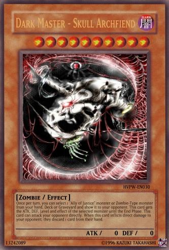 Archfiend Zombie Skull Dark Master - Skull Ar...