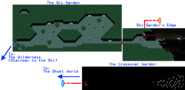 Sky garden Map