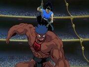 Hiei vs Makintaro