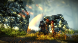 Salva šípů (Vernon, Triss a Geralt).png