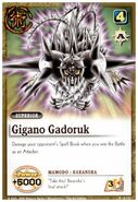 Gigano Gadoruku card