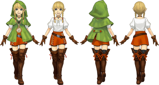 File:Hyrule Warriors Legends Artwork Linkle (Concept Art).png