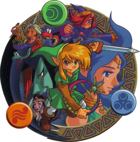 File:Oracle of Ages Characters.png
