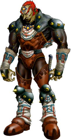 File:Ganondorf Artwork (Ocarina of Time).png