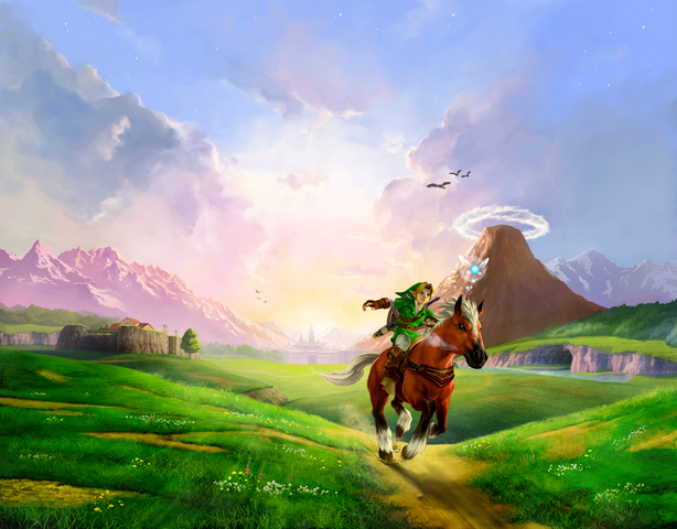 File:Characters (Ocarina of Time 3D).png