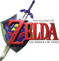 The Legend of Zelda - Ocarina of Time (logo).png