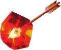 Majora's Mask Arrows Fire Arrow (Artwork).png