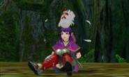 Hyrule Warriors Legends Linkle (Pegasus Boots) Standard Outfit (Lorule - Ravio Recolor)