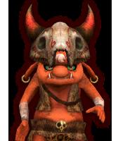 File:Hyrule Warriors Summoners Bokoblin Summoner (Dialog Box Portrait).png