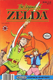 The Legend of Zelda Comic First Issue