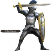 Hyrule Warriors Allied Units Hyrulean Captain - Knight Armor (Render)