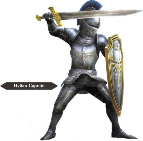 File:Hyrule Warriors Allied Units Hyrulean Captain - Knight Armor (Render).png