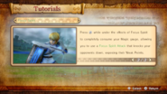Hyrule Warriors Tutorials Focus Spirit Tutorial (3 of 3)