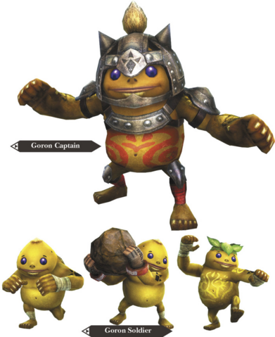 File:Hyrule Warriors Allied Units Goron Forces (Render).png