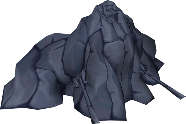 File:The Wind Waker Ganondorf Ganondorf turned to stone (Render).png