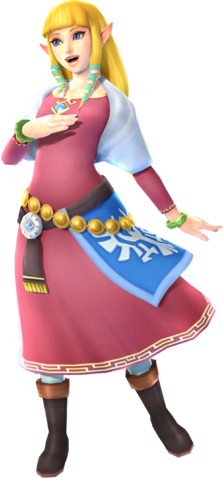 File:Zelda - Skyloft Robes (Hyrule Warriors Skyward Sword Costume DLC).png