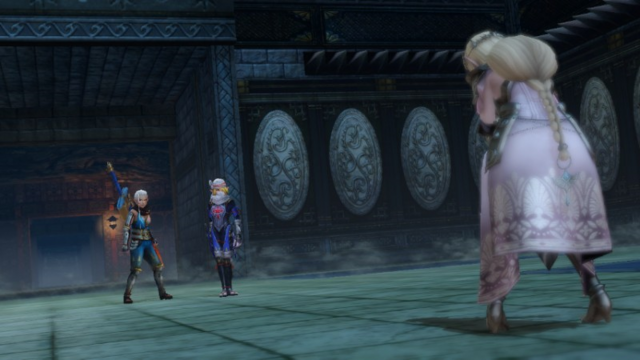 File:Hyrule Warriors The Water Temple Imposter Zelda Defeated (Cutscene).png