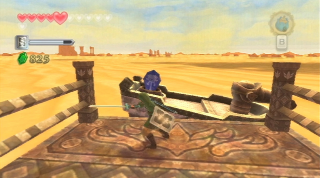 File:Skyward Sword Skipper's Motorboat Timeshift Stone (inactive).png