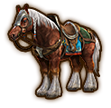 File:Hyrule Warriors Horse Epona (Level 1 Horse).png