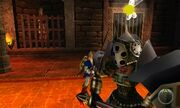 OoT3D screenshot Iron Knuckle undressed