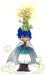 Prince Richard (Link's Awakening 4koma Manga)