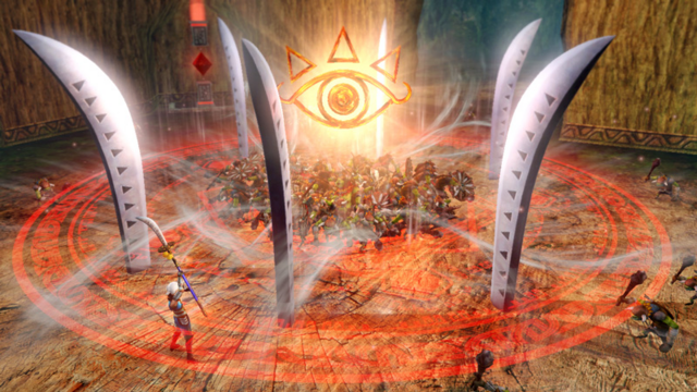 File:Hyrule Warriors Naginata Impa performing her Special Attack with her Guardian Naginata (Level 1 Naginata).png