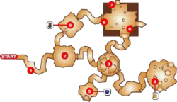 Ice Cavern Map