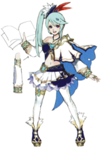 Hyrule Warriors Artwork Lana (Concept Art)