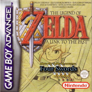 The Legend of Zelda - A Link to the Past & Four Swords (Europe)