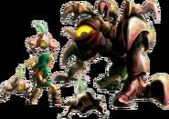 Link vs. Queen Gohma