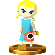 Super Smash Bros. for Wii U Aryll (The Wind Waker) Aryll (Trophy)