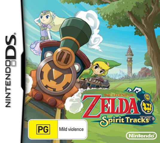 File:The Legend of Zelda - Spirit Tracks (Australian).jpg