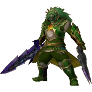 Hyrule Warriors Legends Ganondorf Standard Armor (Koholint - Mamu Recolor)