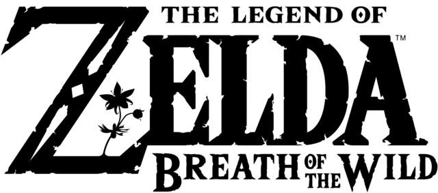 File:Breath of the Wild Transparent Logo.png