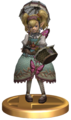 Super Smash Bros Brawl Trophies Agitha (Trophy Render).png