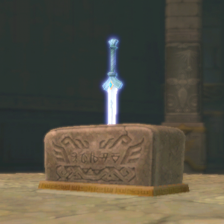 File:Goddess Sword in Pedestal.png