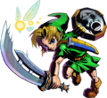 Majora's Mask 3D Link Razor Sword & Mirror Shield (Artwork).png
